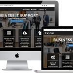 IT company website development - Axiom IT Services