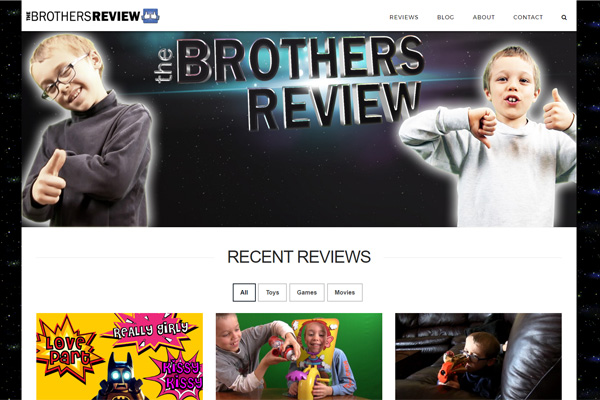 The Brothers Review - Youtube toys games and movie reviews