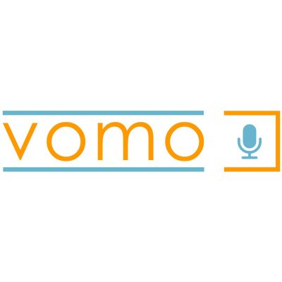 VOMO brand development. A portable vocal booth by VocalBoothToGo