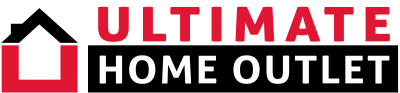 Ultimate Home outlet logo, taglline by Virbon media