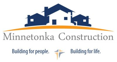 Minnetonka Construction branding, logo, and tagline by Virbion Media