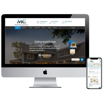 Minnetonka Construction website development